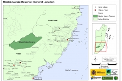 Bladen Nature Reserve: General Location