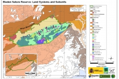 Bladen Nature Reserve: Land Systems & Subunits