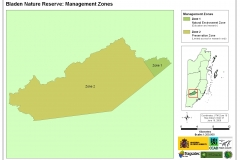Bladen Nature Reserve: Management Zones