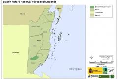 Bladen Nature Reserve: Political Boundaries