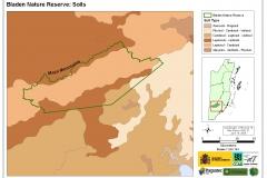 Bladen Nature Reserve: Soils
