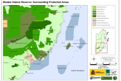 Bladen Nature Reserve: Surrounding Protected Areas