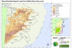 MMM - Land over 500m