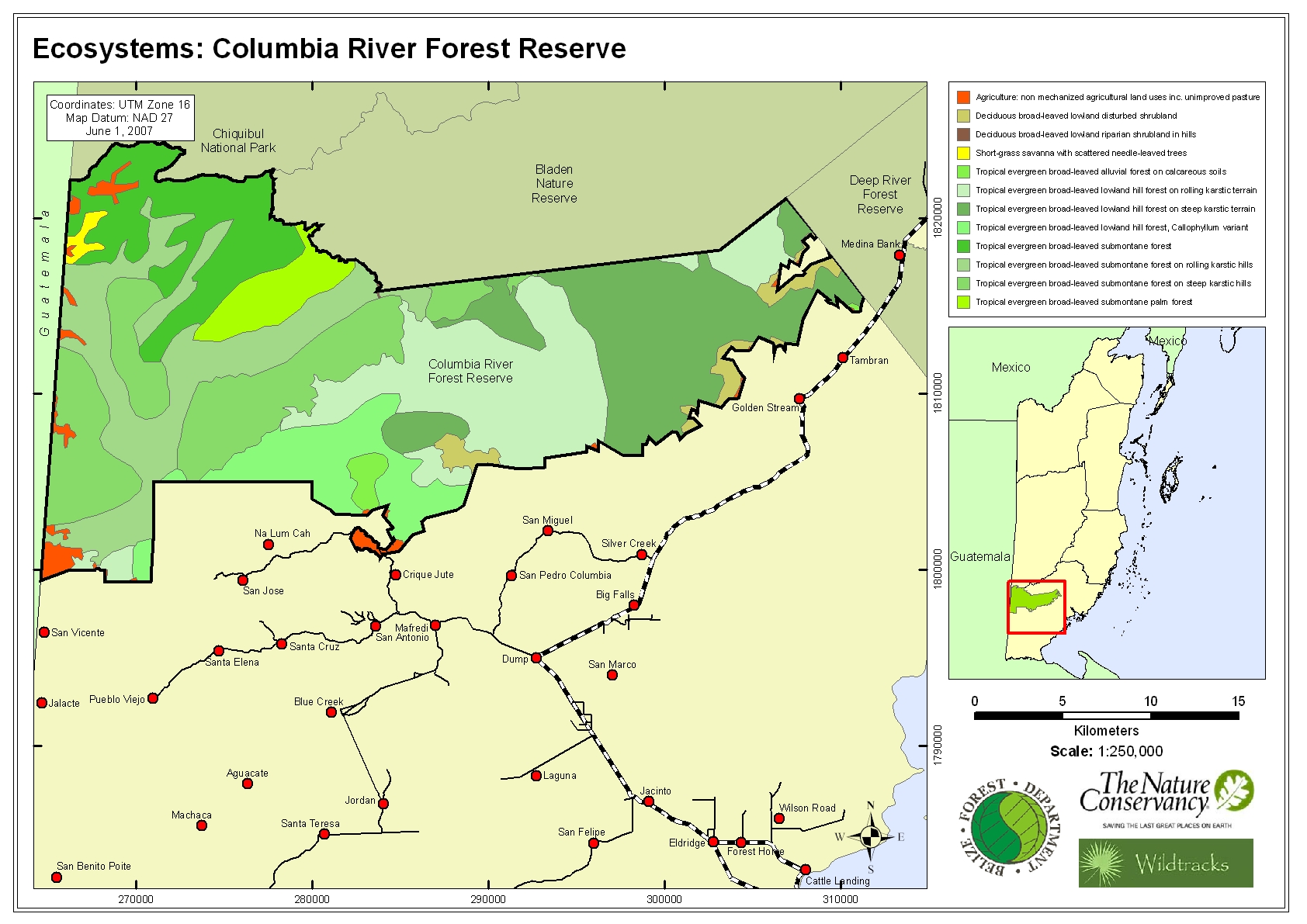 Ecosystems: Columbia River Forest Reserve