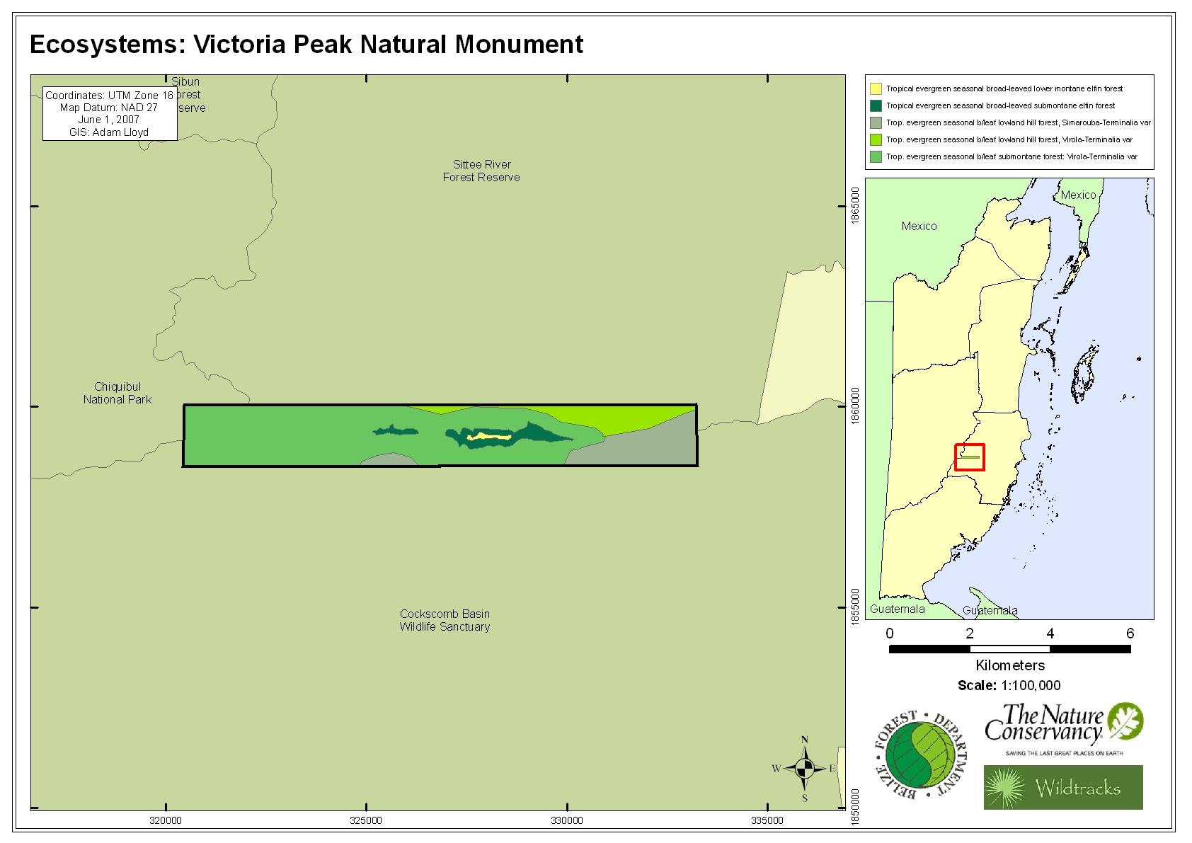 Ecosystems: Victoria Peak Natural Monument