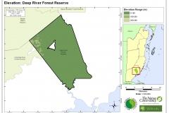 Elevation: Deep River Forest Reserve