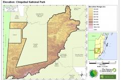 Elevation: Chiquibul National Park