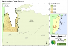 Elevation: Vaca Forest Reserve