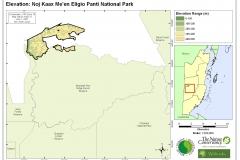 Elevation: Noj Kaax Me'en Eligio Panti National Park