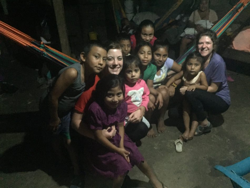 U of C students make friends with the kids in their homestay family