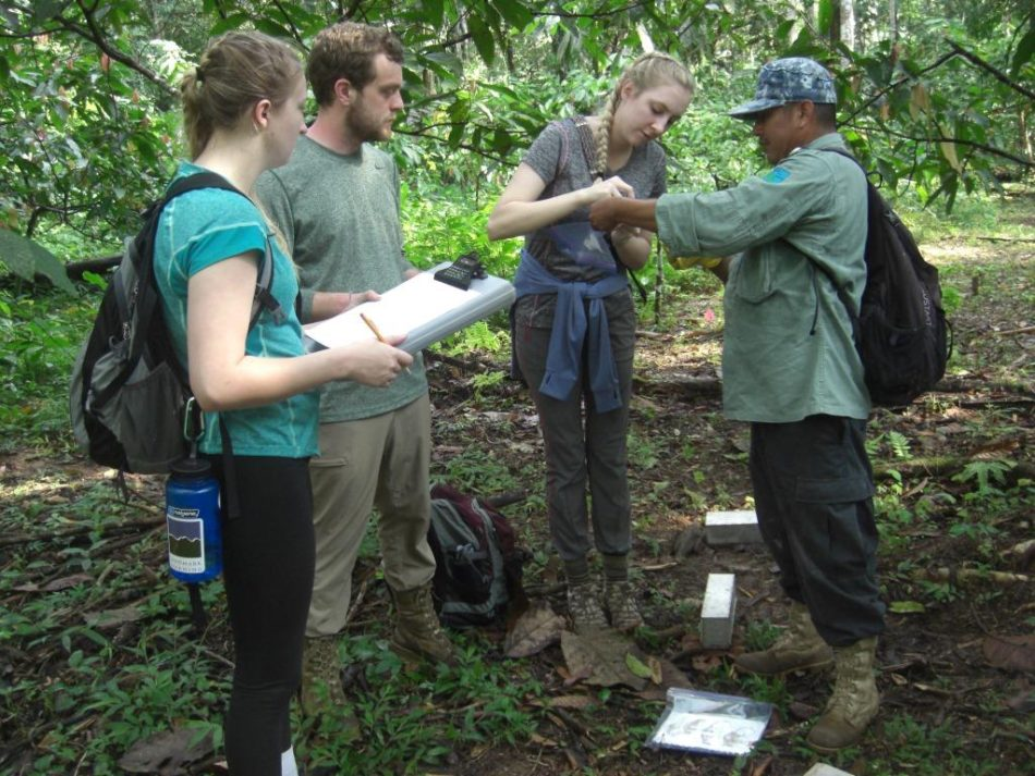 Lees-McRae students identify a small mammal