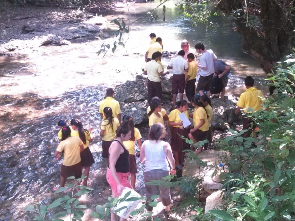 Sterling College leads Golden Stream students in a science experiment